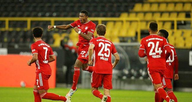 Bayern Münih Borussia Dortmund'u 3 golle geçti