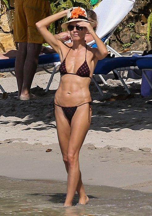 Heidi Klum gençlere taş çıkarttı