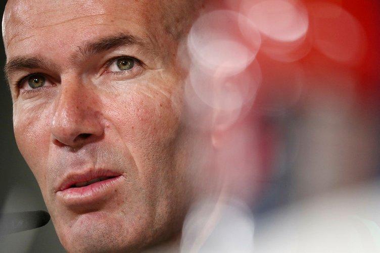 Zidane'dan Galatasaray maçı öncesi tuhaf basın toplantısı!