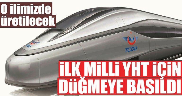 Türkiye'nin ilk 'milli hızlı treni' Eskişehir'de üretilecek