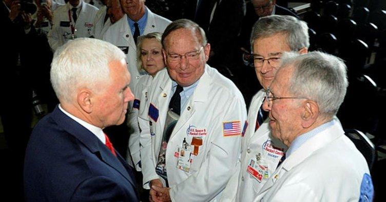 Pence 2024'e kadar Ay'a astronot gönderilmesini istedi