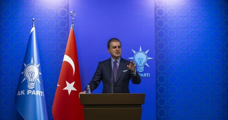 Ömer Çelik: AK Parti Sözcüsü Çelik: Atatürk'e dönük çirkin yayını en şiddetli şekilde kınıyoruz