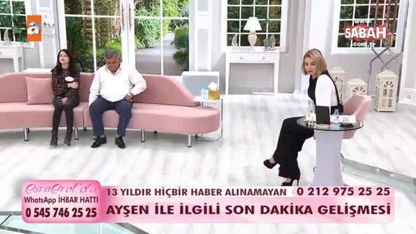 13 yıllık sır perdesi Esra Erol'da aralandı   Video