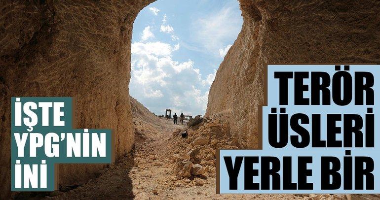 İşte YPG'nin ini