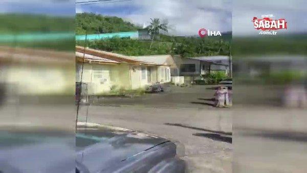 Son dakika: Yeni Zelanda'da 8 şiddetinde deprem | Video