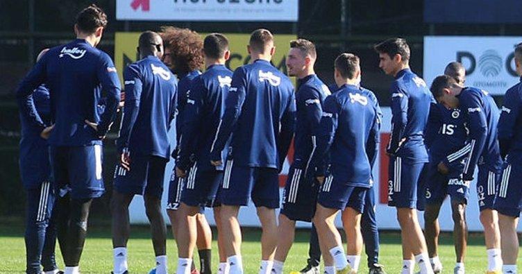 Fenerbahçe Alanyaspor maçı hazırlıklarına başladı