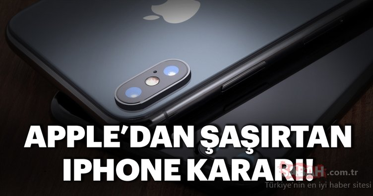 Apple'dan şaşırtan iPhone kararı