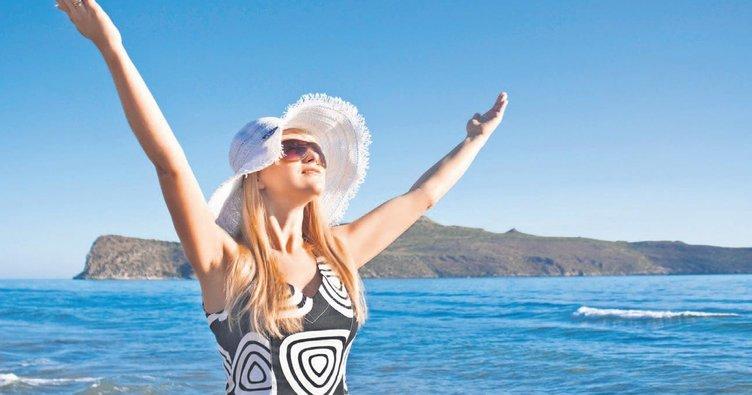 Deniz suyu ve güneş sedef hastalarının doğal ilacı