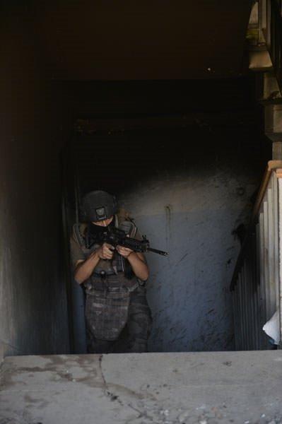 Nusaybin'deki operasyonun yüzde 75'i tamamlandı