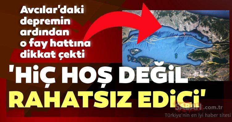 SON DAKİKA: İstanbul Avcılar'da meydana gelen depremin ardından uzman isim uyardı! O fay hattına dikkat çekti ve ekledi...