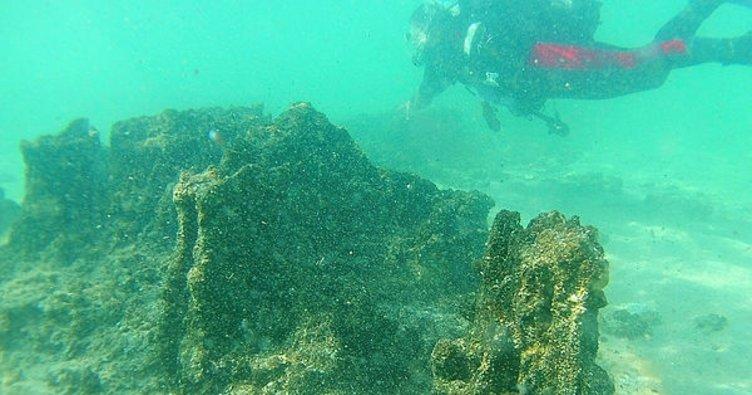 Van Gölü'nün derinliklerindeki yerleşim kalıntıları gün yüzüne çıkartılıyor