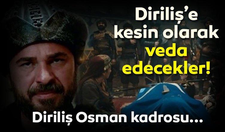 Diriliş Ertuğrul 150. son sezon finali ile o oyuncular diziden ayrıldı! Diriliş Osman dizisi oyuncu kadrosu netleşiyor