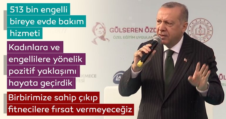 Important remarks from President Erdoğan