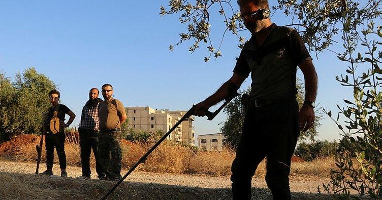 YPG/PKK Azez'de mayınlı tuzak kurdu