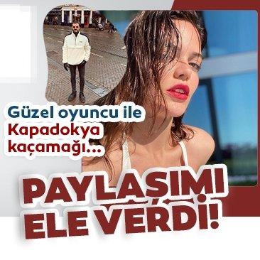 Son dakika haberi: Güzel oyuncu Hilal Altınbilek ile Gurur Aydoğan'ın Kapadokya kaçamağı! Hilal Altınbilek'in paylaşımındaki o detay ele verdi....