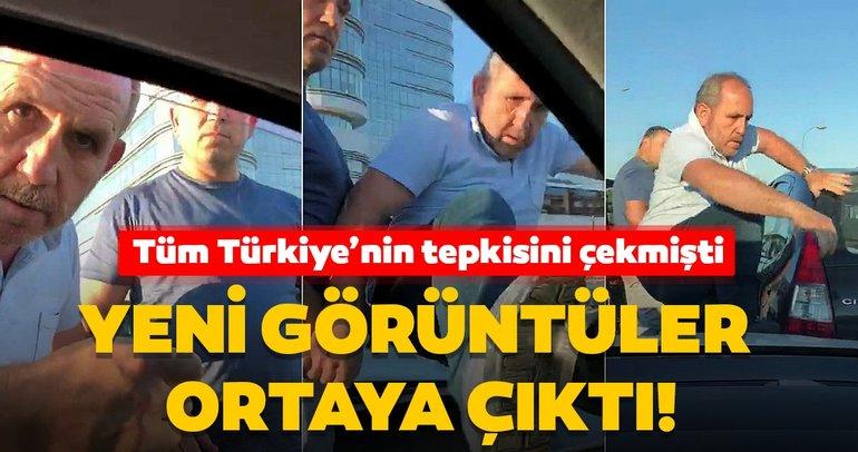 Son dakika: Tüm Türkiye'nin tepkisini çekmişti! Trafikte saldırı olayı ile ilgili yeni görüntüler ortaya çıktı...