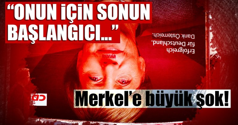 Alman basını yazdı: Merkel için sonun başlangıcı….