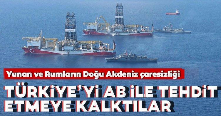 Yunan-Rum ikilisi Doğu Akdeniz'de AB'yi öne sürüyor