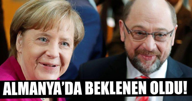 Almanya'da beklenen oldu!