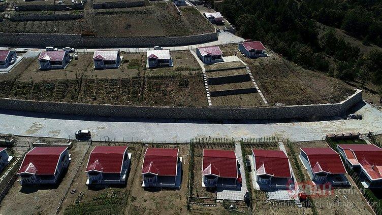 Hobi Evleri'yle bölge arazileri altın oldu