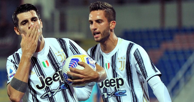 Ronaldo'suz Juve deplasmanda kayıp! Crotone 1-1 Juventus