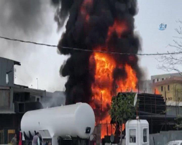 Son Dakika: Sancaktepe'de yangın çıktı