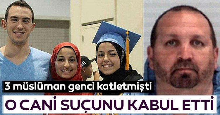 ABD'de 3 Müslümanı katleden zanlı suçunu kabul etti