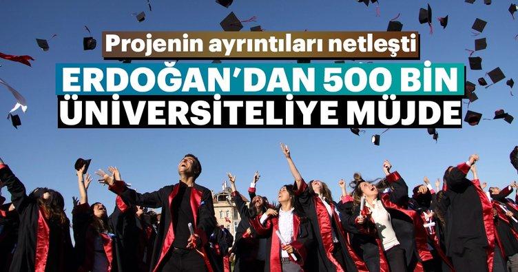 500 bin üniversiteliye yaz işi