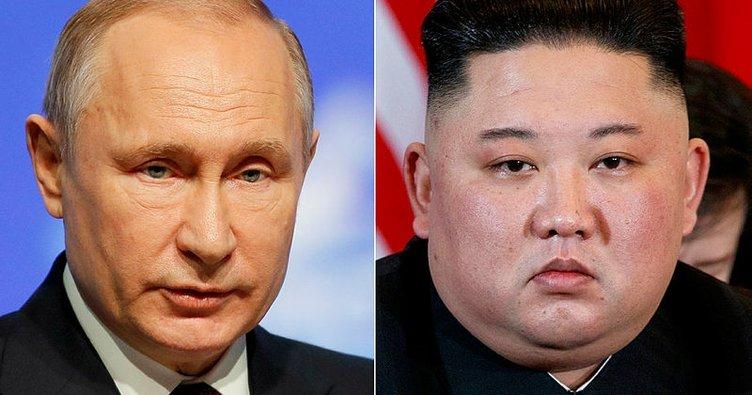 Putin Kim Jong-un ile görüşecek