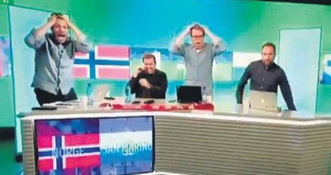 San Marino golünde sinir krizi geçirdiler!