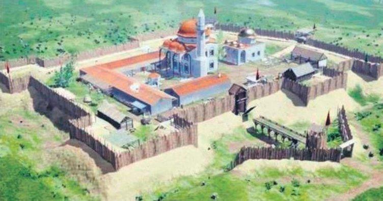 Kanuni'nin türbesinin çevresine kasaba kurulmuş