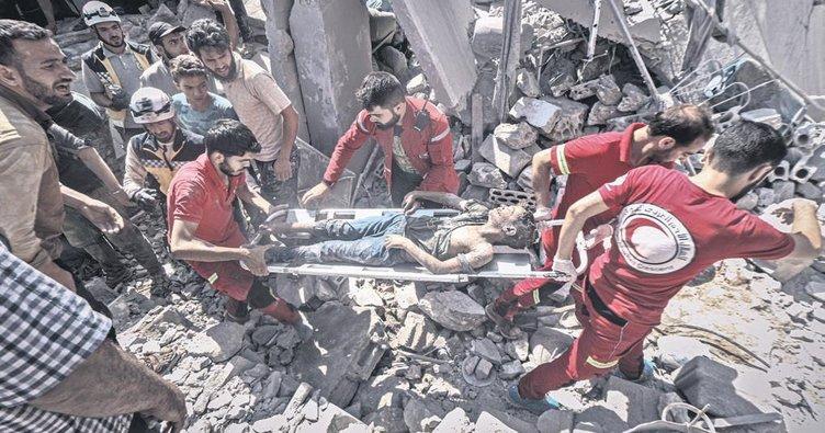Esad yine ölüm yağdırdı