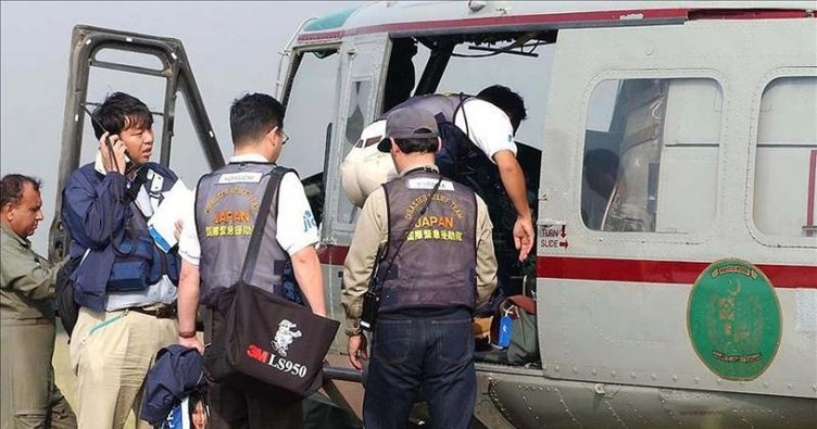 Japonya'da irtibatın kesildiği helikopter