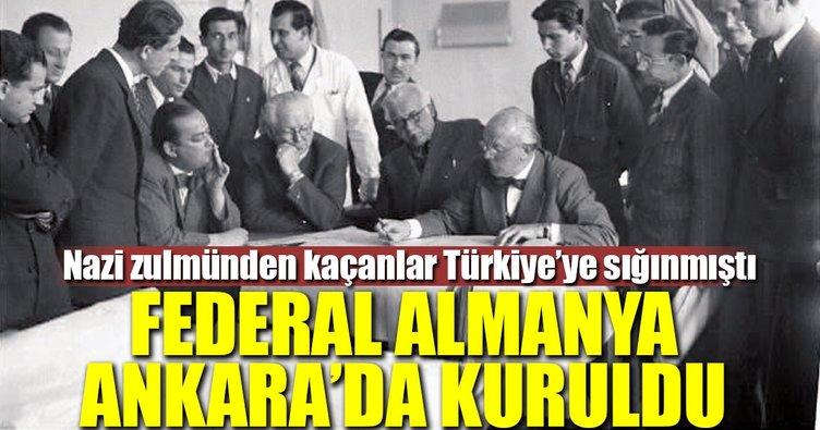 Federal Almanya Ankara'da kuruldu