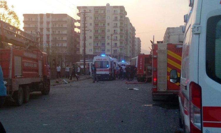 Mardin Kızıltepe'de patlama
