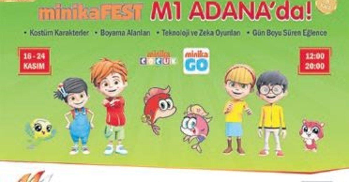 Minika Fest M1 Avm De Miniklerle Bulusacak Guney Haberleri