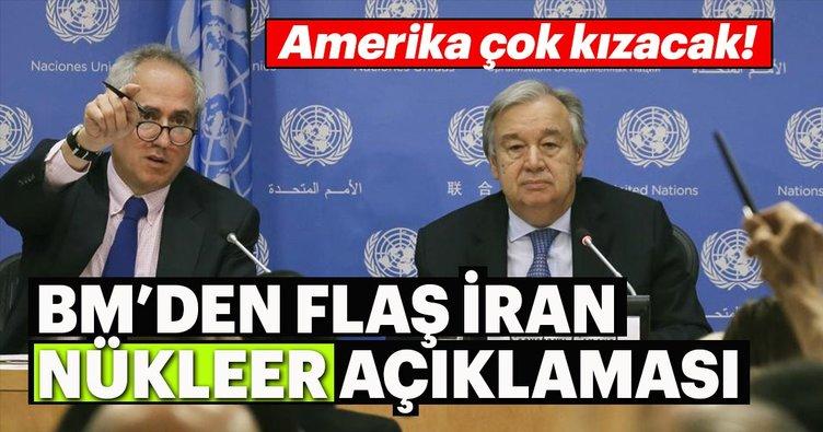 BM'den flaş İran nükleer anlaşması açıklaması