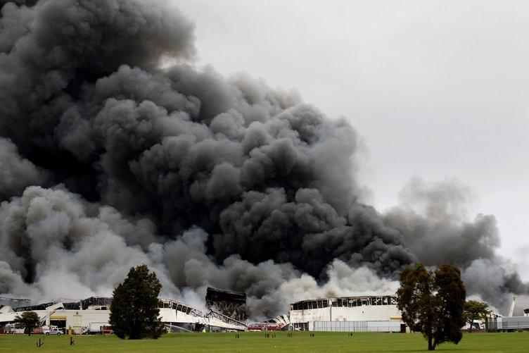 General Electric tesisleri yandı!