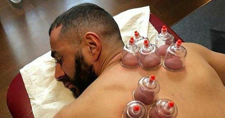 Karim Benzema modaya uydu