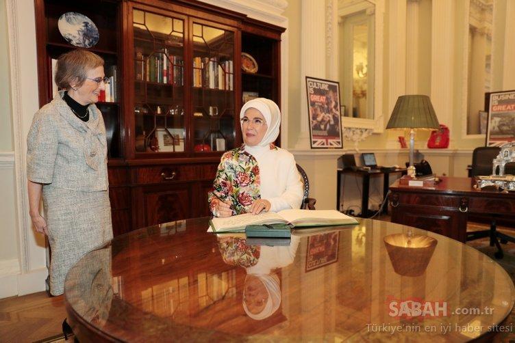 Emine Erdoğan'a İnsani Hizmet Takdir Ödülü