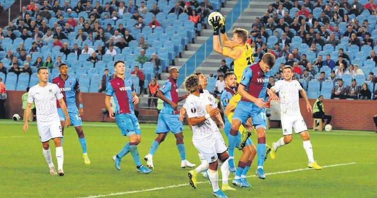 Trabzonspor kaza yaptı
