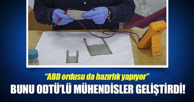 ODTÜ'lü mühendisler kıyafetleri ısıtacak bir teknoloji geliştirdi