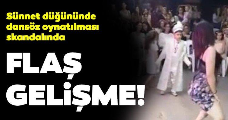 Dansözlü sünnet düğünü skandalından son dakika haberi: 6 kişi hakkında...