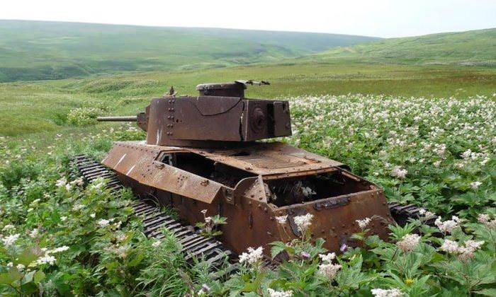 Tank mezarlığı