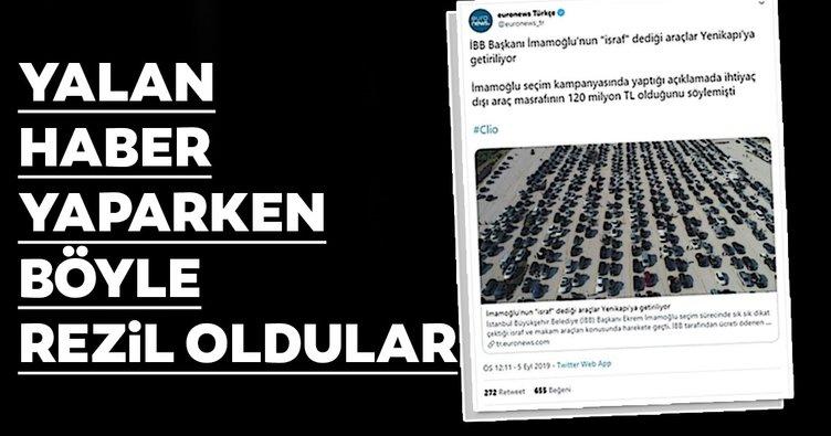Kapıkule Sınır Kapısı'ndaki araçları, Yenikapı'daki İBB araçları diye yayınladılar