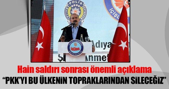 Bakan Soylu: PKK bu ülkenin topraklarından silinecektir