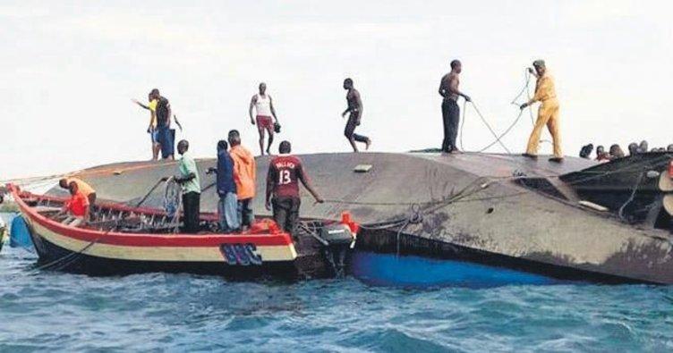 Tanzanya'da feribot faciası: 140 ölü
