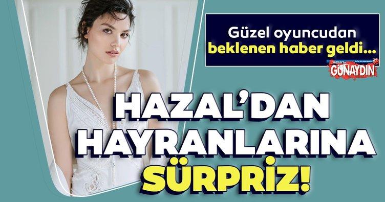 Hazal Filiz Küçükköse hayranlarına sürprizi açıkladı! Güzel oyuncudan beklenen haber geldi…