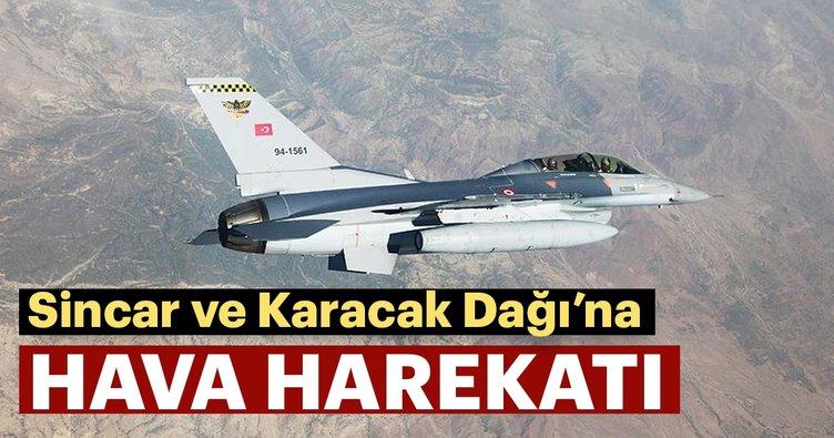Son dakika haberi: PKK Sincar'da vuruldu