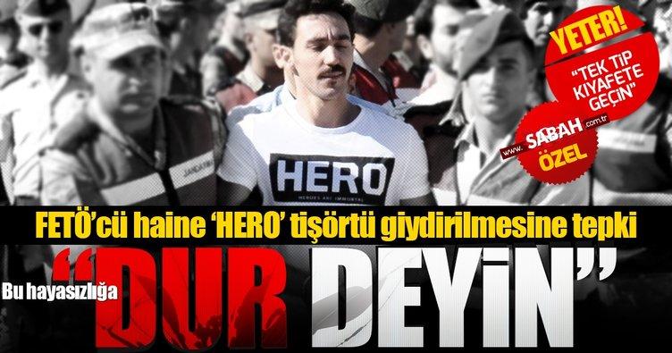 'HERO' skandalına tepki: Yeter artık! Tek tipe geçin